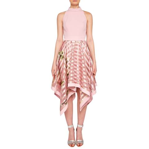Ted Baker Pink Angelik Burnout Dress