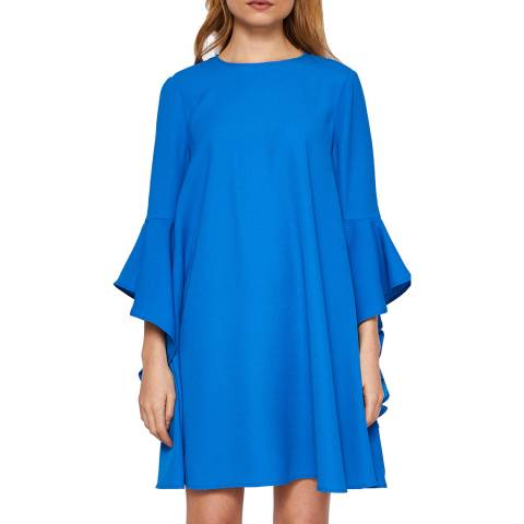 Ted Baker Blue Ashleyy A Line Dress