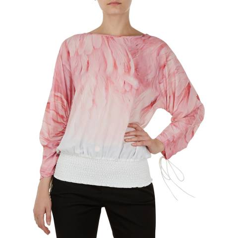 Ted Baker Light Pink Avvi Sheared Top