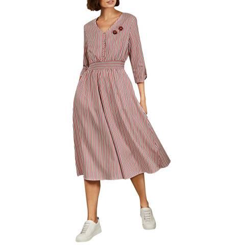 Ted Baker Pink Gymni Elasticated Dress