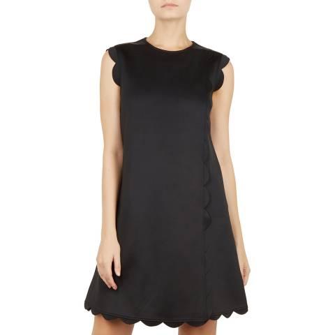 Ted Baker Black Jasmint Shift Dress
