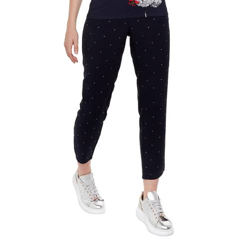 Ted Baker Navy Bobbii Tapered Joggers