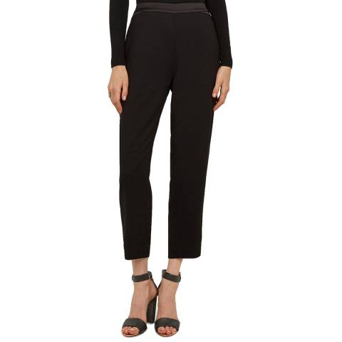 Ted Baker Black Carlaa Slim Joggers