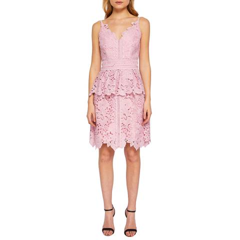Ted Baker Pink Nadiie Lace Dress