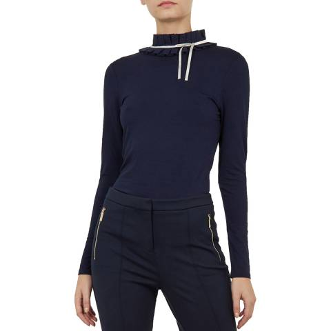 Ted Baker Navy Ceeily Top