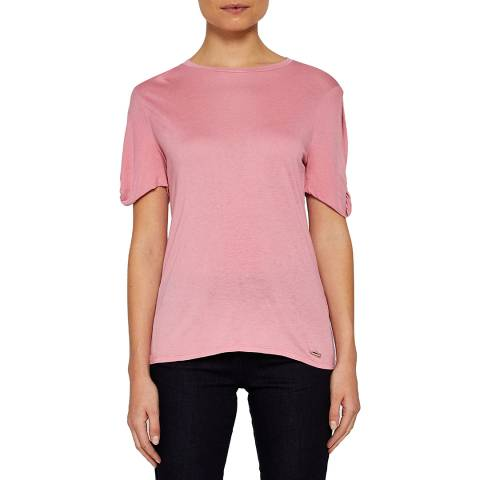 Ted Baker Pink Narva Cut Out Top