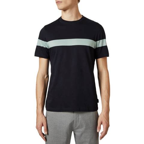 Ted Baker Navy Relaxa Cotton T-Shirt