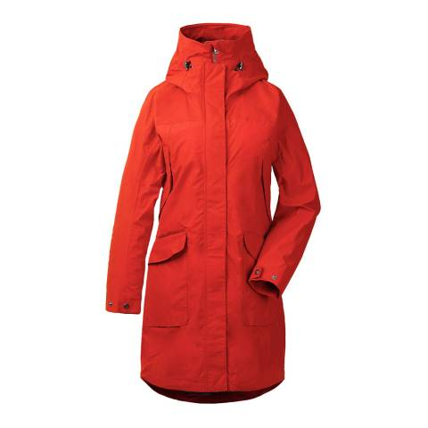 Didriksons Red Agnes Coat