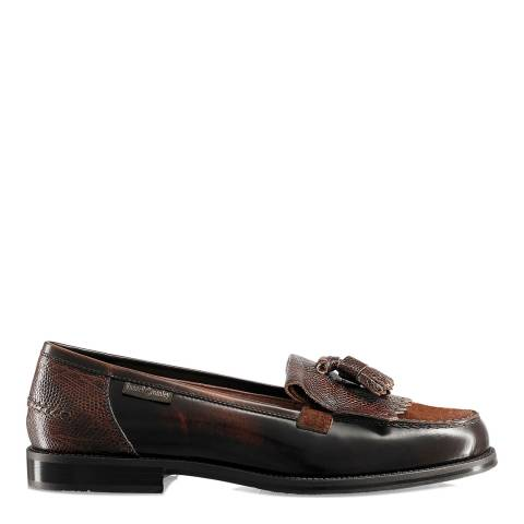 Russell & Bromley Brown Chester Heritage Loafers
