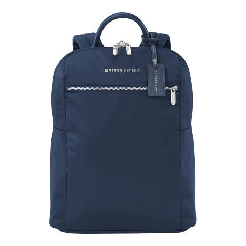 Briggs & Riley Navy Slim Backpack
