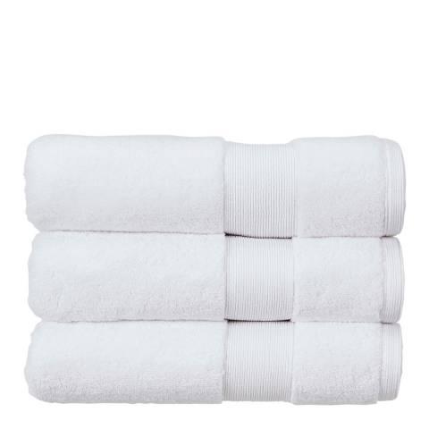 Kingsley Carnival Pack of 6 Face Cloths, White