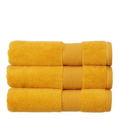 Kingsley Carnival Pack of 6 Face Cloths, Saffron