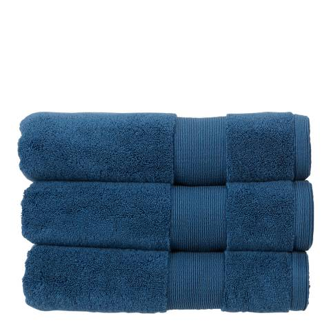 Kingsley Carnival Pack of 6 Face Cloths, Sapphire