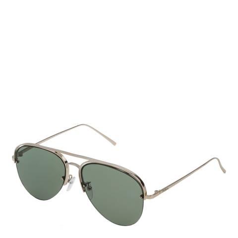 Furla Shiny Gold Aviator Sunglasses
