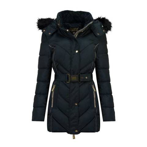 Geographical Norway Navy Becky Jacket