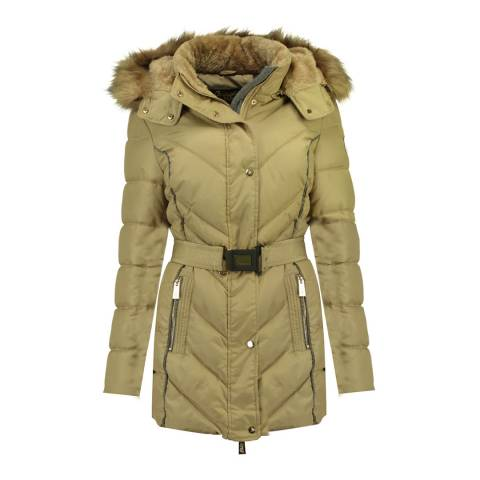 Geographical Norway Beige Becky Jacket