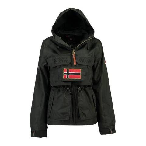 Geographical Norway Navy Butcheta Hooded Jacket