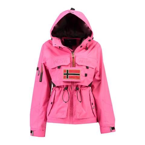Geographical Norway Pink Butcheta Hooded Jacket