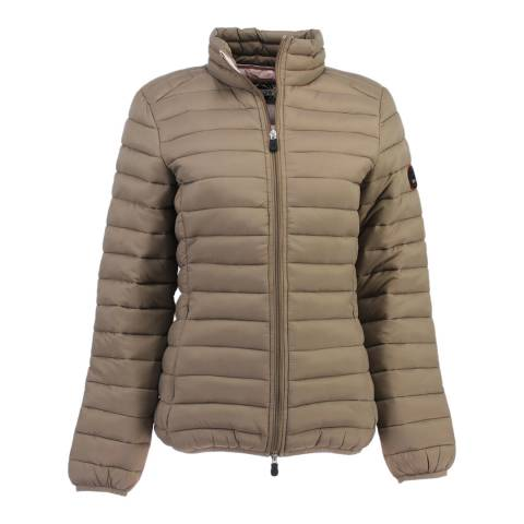 Geographical Norway Taupe Dafne Jacket