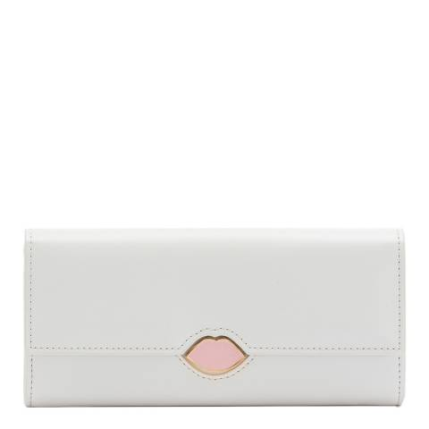 Lulu Guinness Oyster Lip Cut Out Cora Wallet