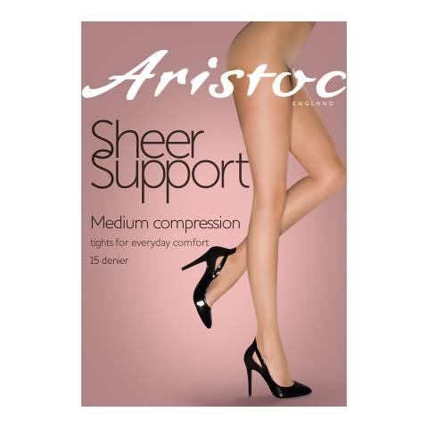 Aristoc Illusion Medium Support Tights, 3 Pack Bundle