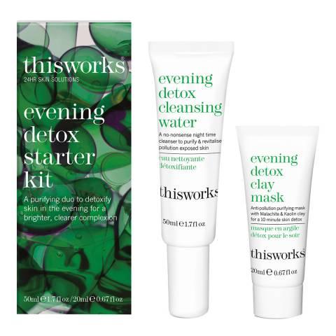 thisworks Evening Detox Starter Kit
