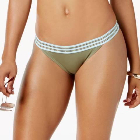 Vince Camuto Avocado Sea Band Solids Bikini Bottom