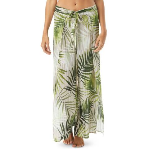 Vince Camuto Fern Tropical Palm Cover Up Pants
