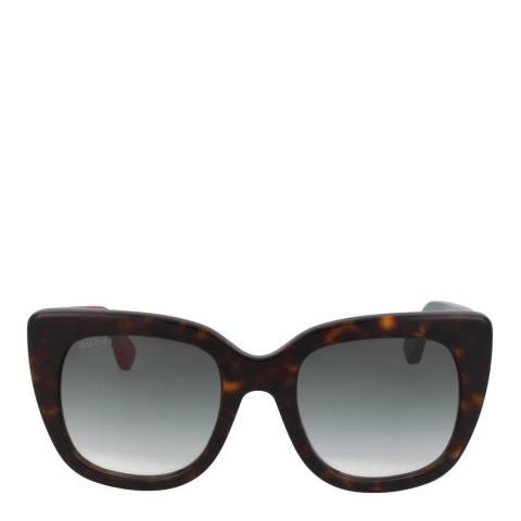 Gucci Women's Black/Grey Gradient Gucci Sunglasses 51mm