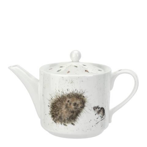 Royal Worcester Hedgehog & Mice Teapot