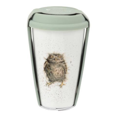 Royal Worcester Owl Travel Mug