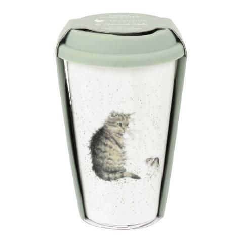 Royal Worcester Cat Travel Mug