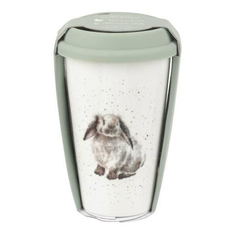 Royal Worcester Rabbit Travel Mug