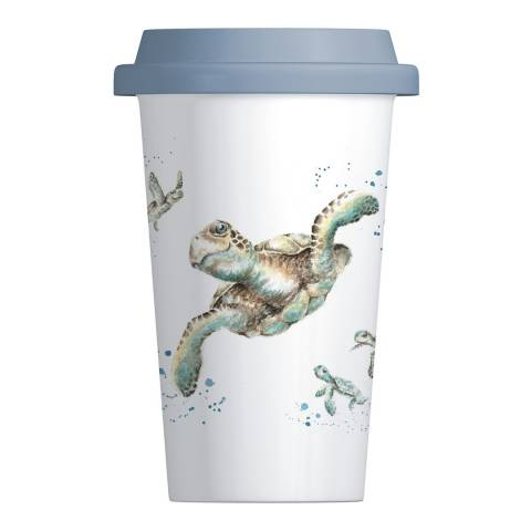 Royal Worcester Turtle Travel Mug