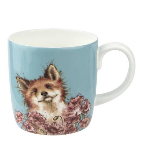 Royal Worcester Poppy Field Mug