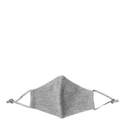 Scott & Scott London Grey Cashmere Face Mask