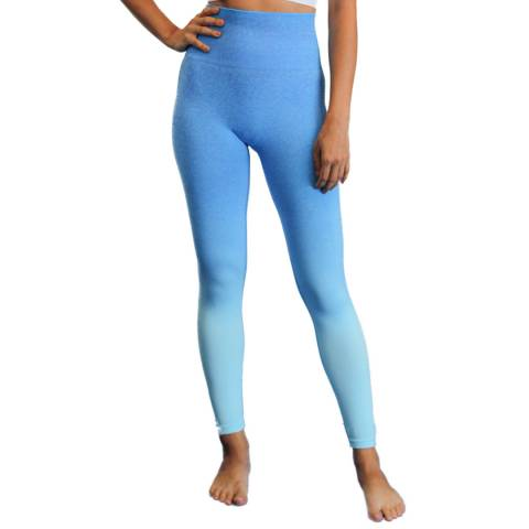 Live Electric Blue Charge Up Leggings