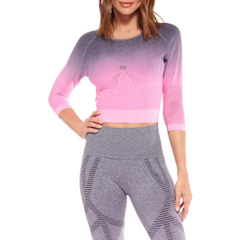 Live Electric Pink Lexi Long Sleeve Top
