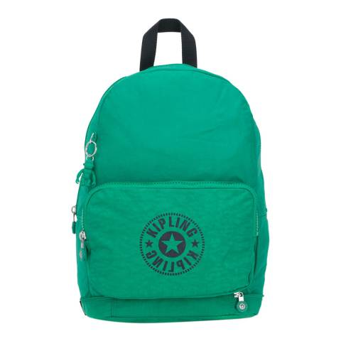 Kipling Lively Green Niman New Classics Backpack