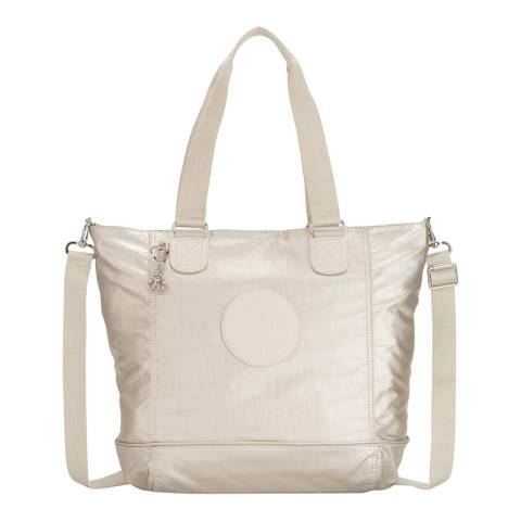 Kipling Cloud Metal Shopper Basic Plus Tote