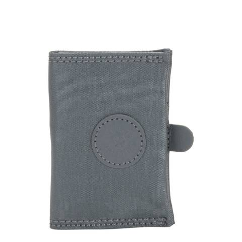 Kipling Steel Grey Card Keeper Basic Plus Wallet
