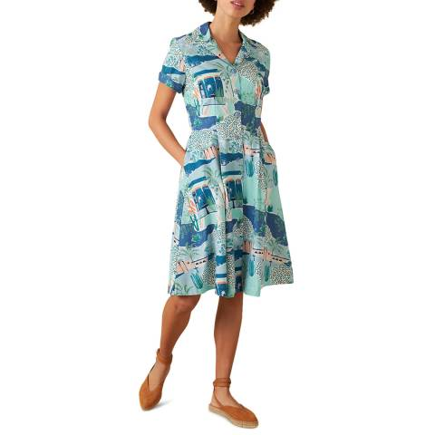 Emily and Fin Blue Kate Dress
