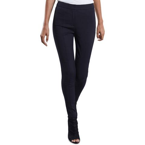 Reiss Navy Arla Skinny Trousers