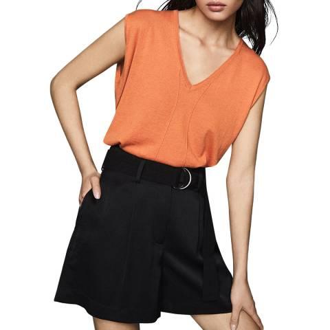 Reiss Orange Chris Sleeveless Knit Top