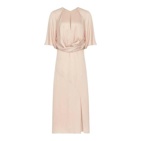 Reiss Light Pink Arlo Day Dress