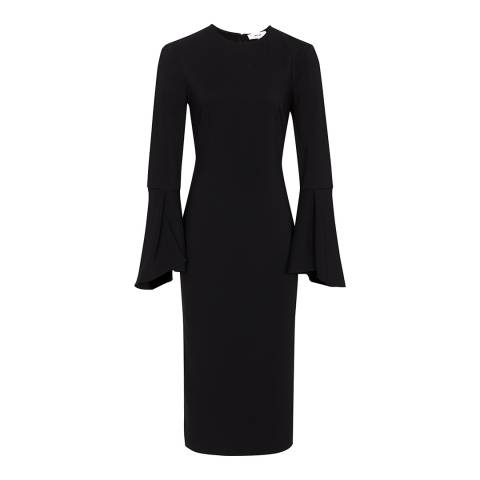Reiss Black Annie Bodycon Dress