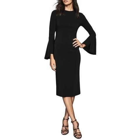 Reiss Black Annie Bodycon Dress
