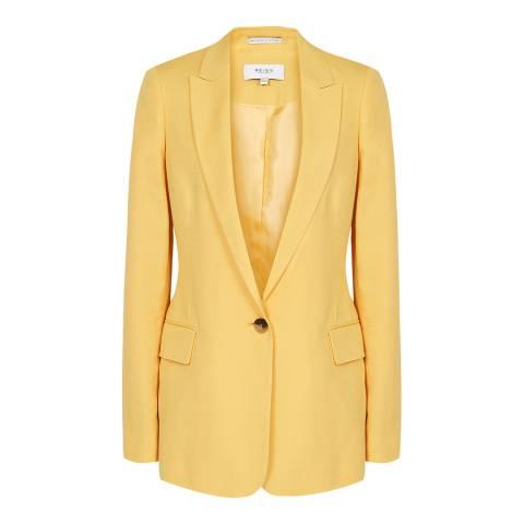 Reiss Yellow Haya Suit Jacket