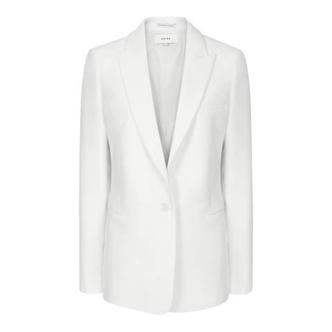 Reiss White Ashby Suit Jacket