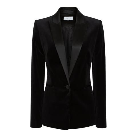 Reiss Black Vixena Suit Jacket